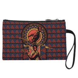 Black Panther | Okoye & Nakia Wakandan Panel Wristlet
