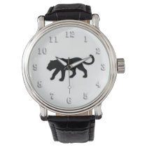 Black Panther on White Watch