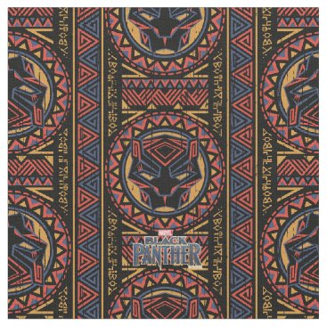 blackpanther Black Panther   Panther Head Tribal Pattern Fabric