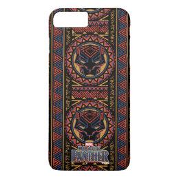 Black Panther   Panther Head Tribal Pattern iPhone 8 Plus/7 Plus Case
