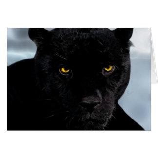 Black Panther Panthera Card