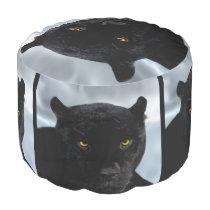 Black Panther Panthera Pouf