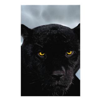 Black Panther Panthera Stationery