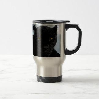 Black Panther Panthera Travel Mug