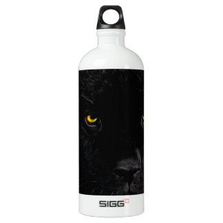 Black Panther Panthera Water Bottle