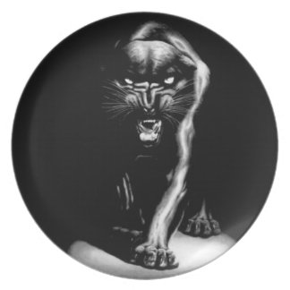 Black Panther Plate