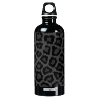 Black Panther Print Aluminum Water Bottle