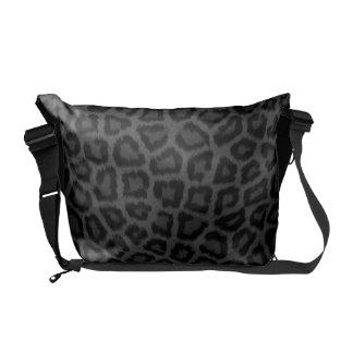 Black Panther Print Courier Bag