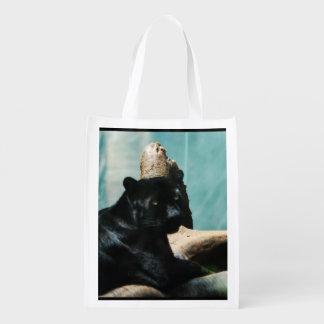 Black Panther Reusable Grocery Bag