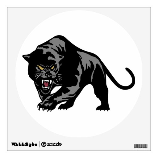 Black panther room stickers zazzle for Black panther mural