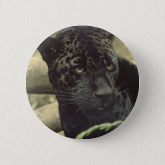 Black Panther Round Button