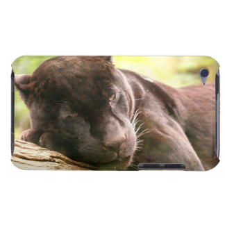 Black Panther Sleeping iTouch Case Barely There iPod Cover
