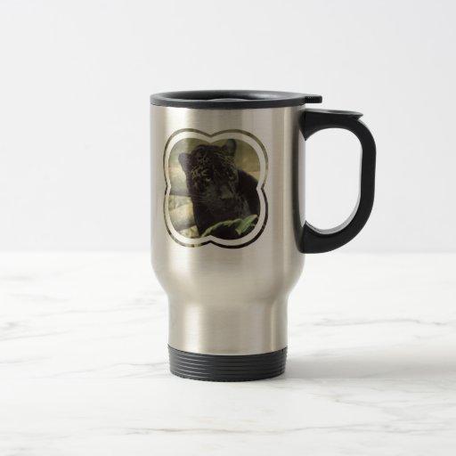Black Panther Stainless Travel Mug