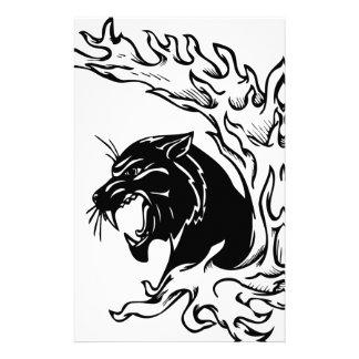Black Panther Stationery