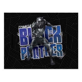 Black Panther | T'Challa - Black Panther Graphic Postcard