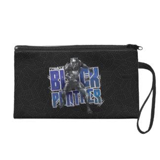 Black Panther   T'Challa - Black Panther Graphic Wristlet