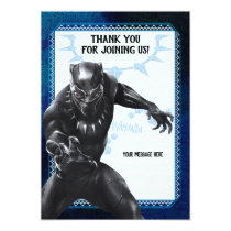 Black Panther | Thank You Card