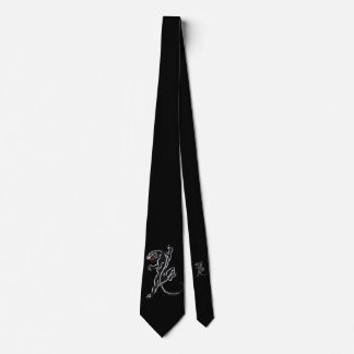 Black Panther Traditional Style Tie