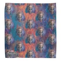 Black Panther | Tribal Mask Overlaid Art Bandana