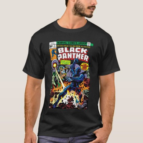 Black Panther Vol 1 Issue #2 Comic Cover T-Shirt