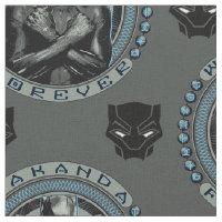 Black Panther | Wakanda Forever Badge Fabric