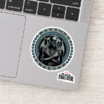 Black Panther | Wakanda Forever Badge Sticker
