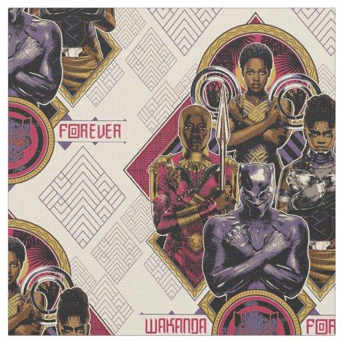Black Panther | Wakanda Forever Salute Fabric