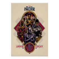 Black Panther | Wakanda Forever Salute Poster