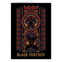 Black Panther | Wakandan Black Panther Panel