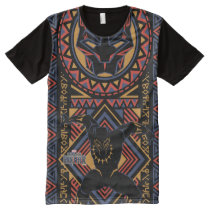 Black Panther | Wakandan Black Panther Panel All-Over-Print Shirt