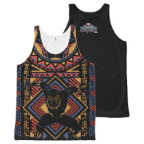 Black Panther | Wakandan Black Panther Panel All-Over-Print Tank Top