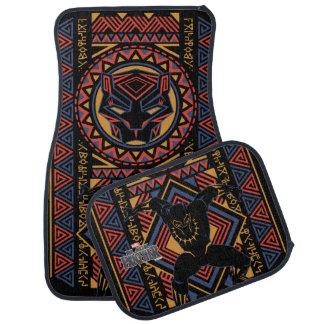 Black Panther | Wakandan Black Panther Panel Car Floor Mat