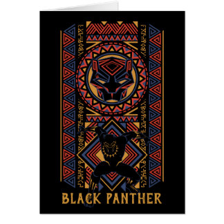 Black Panther | Wakandan Black Panther Panel Card