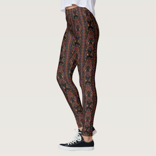 Black Panther | Wakandan Black Panther Panel Leggings