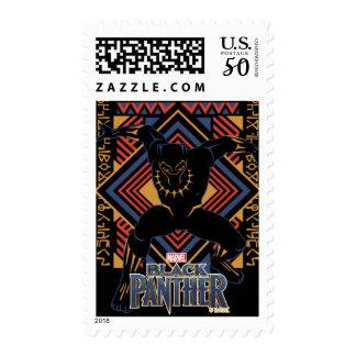 Black Panther | Wakandan Black Panther Panel Postage