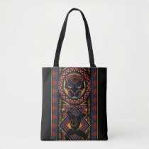Black Panther | Wakandan Black Panther Panel Tote Bag