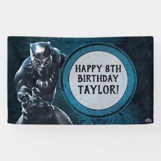 Black Panther | Wakandan Tribe Birthday Banner