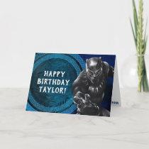 Black Panther | Wakandan Tribe Birthday Card