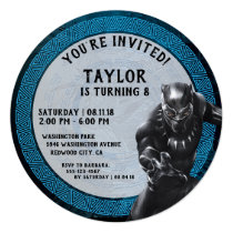 Black Panther | Wakandan Tribe Birthday Invitation