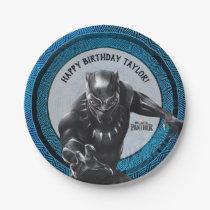 Black Panther | Wakandan Tribe Birthday Paper Plate