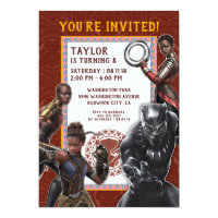 Birthday Invitations<