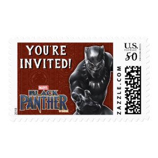 Black Panther   Wakandan Warriors Birthday Postage