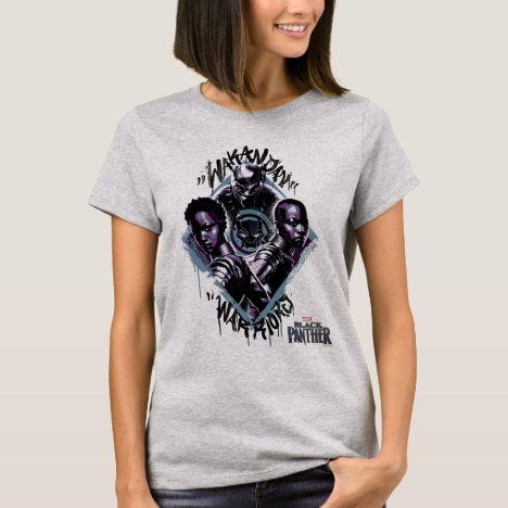 Black Panther | Wakandan Warriors Graffiti T-Shirt