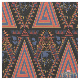 Black Panther | Wakandan Warriors Tribal Panel Fabric