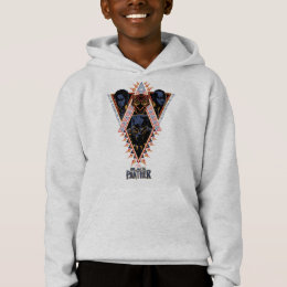 Black Panther | Wakandan Warriors Tribal Panel Hoodie