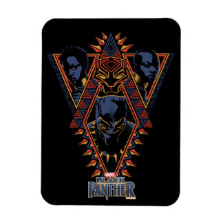 Black Panther | Wakandan Warriors Tribal Panel Magnet