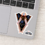 Black Panther | Wakandan Warriors Tribal Panel Sticker