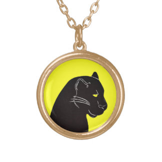 Black Panther Yellow Necklace