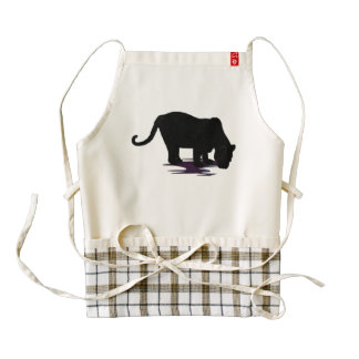 Black Panther Zazzle HEART Apron