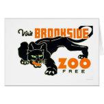 Black Panther Zoo 1937 WPA